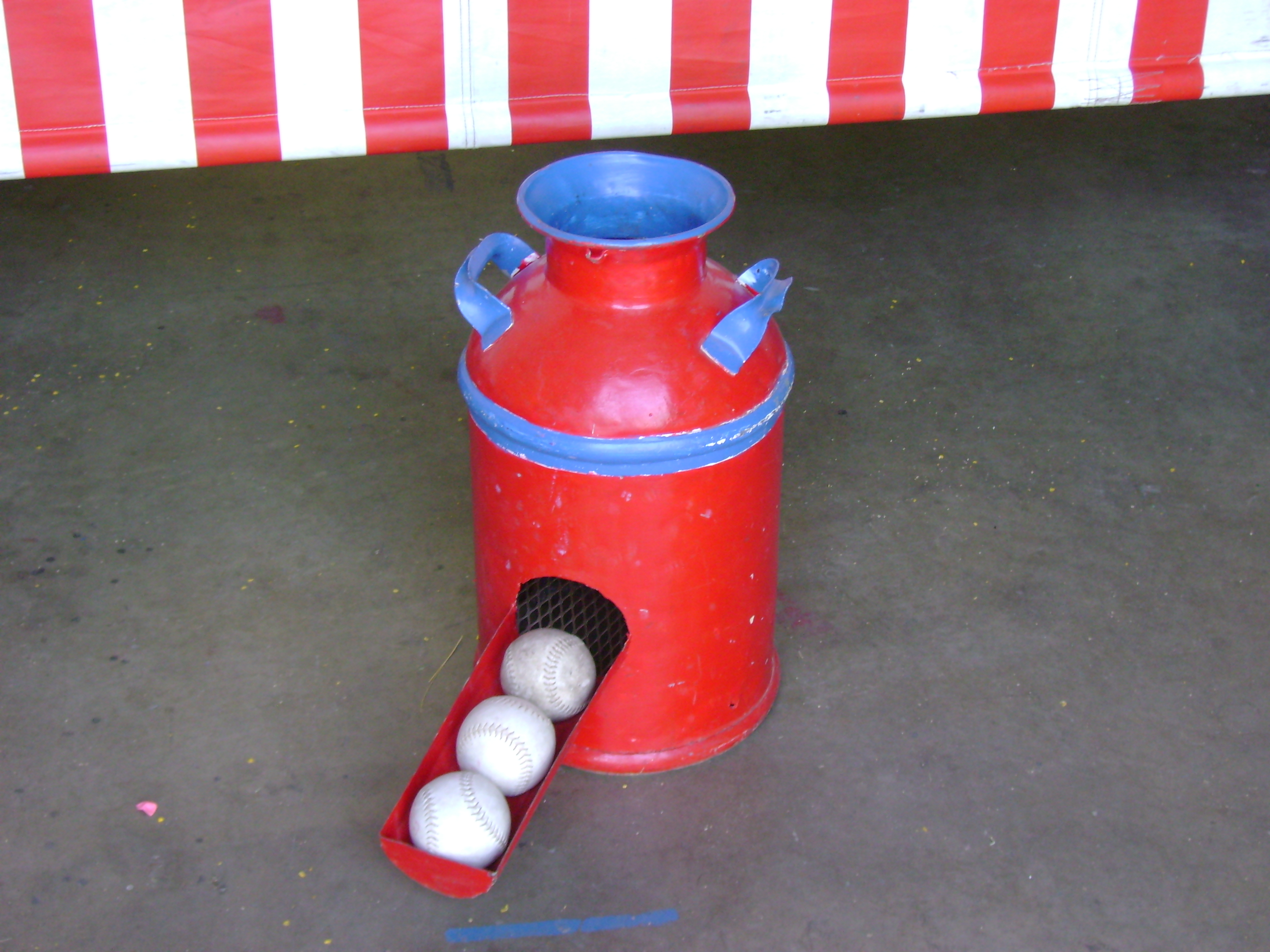 Milk Can Toss