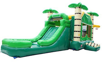 Palm Tree Combo Bounce / Water Slide